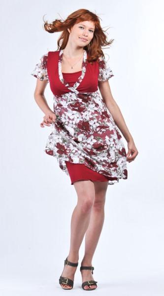 Модные кормящие платья