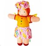 """Вязаная кукла """"Рыжая Соня"""""""