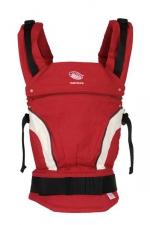 Эргономичный рюкзачок-переноска ManducaNewStyle Red