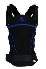Эргономичный слинг-рюкзак Manduca BlackLine AbsoluteBlue