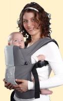 Эргономичный рюкзак Кенгуруша, Модель  Fix&Go - Серый