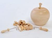 Бирюльки крупные в яблочке некрашеном