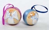 "Набор новогодних шаров ""Ангелочки"""
