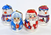 """Набор ёлочных игрушек """"Новогодний"""""""