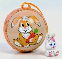 """Ёлочная игрушка """"Год Кролика"""""""