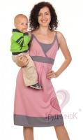 Платье Нектар Персика для кормящей мамы