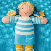 "Вязаная кукла ""Маринка"""