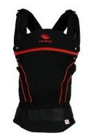 Эргономичный слинг-рюкзак Manduca BlackLine RadicalRed