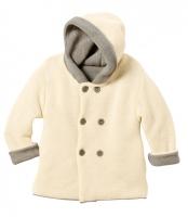 Куртка с капюшоном, двухслойный трикотаж