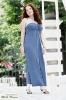Платье Angelina's Voyage: дымчатый сапфир