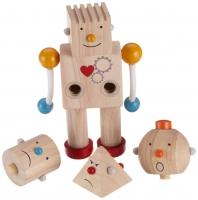 Деревянный конструктор Робот