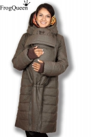 Зимняя слингокуртка Frogqueen Тэпла 3 в 1, мокка