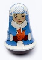Неваляшка Снегурочка