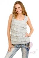 Блузка для кормящей мамы Рюши